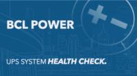 UPS System Health Check